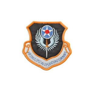アメリカ空軍 AFSOC 特殊作戦コマンド パッチ ワッペン ベルクロ付き マジックテープ付き OD オリーブドラブ|kstacticalshop