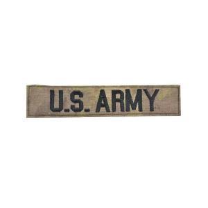 SW製 アーミー 米軍 合衆国陸軍 ベルクロ付き ワッペン パッチ 胸章 サバゲー ATAU|kstacticalshop