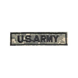 アーミー 米軍 合衆国陸軍 ベルクロ付き ワッペン パッチ 胸章 サバゲー ACU迷彩 UCPパターン|kstacticalshop