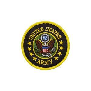 UNITED STATES ARMY アメリカ陸軍 US.ARMY 紋章 部隊 パッチ ワッペン ベルクロ付き マジックテープ付き|kstacticalshop