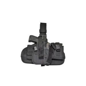 ドロップレッグ タイプ レッグホルスター サイホルスター MOLLE システム ブラック 黒|kstacticalshop