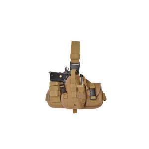 ドロップレッグ タイプ レッグホルスター サイホルスター タンカラー 茶色 MOLLE システム|kstacticalshop