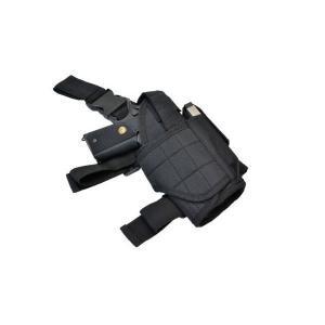 シングル ドロップレッグ タイプ レッグホルスター サイホルスター ブラック 黒色 MOLLEシステム 右利き|kstacticalshop