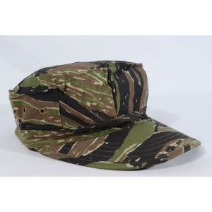 タイガーストライプ 迷彩柄 リザードパターン 八角帽 ミリタリーキャップ アメリカ軍|kstacticalshop