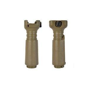 タンゴダウンタイプ バーティカル フォアグリップ ショートフォアグリップ 2WAYタイプ TAN AK47にも対応! kstacticalshop
