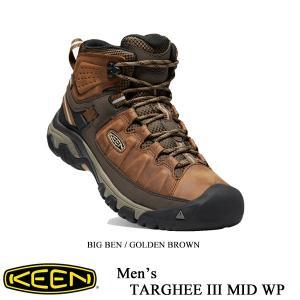 キーン シューズ ターギー IIIミッド メンズ BIG BEN / GOLDEN BROWN - KEEN -|kt-gigaweb