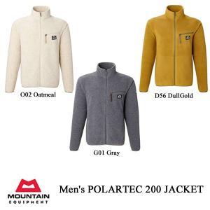 マウンテンイクイップメント トップス ポーラテック200・ジャケット メンズ MOUNTAIN EQUIPMENT|kt-gigaweb