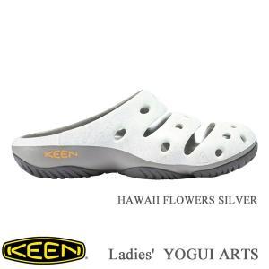 キーン シューズ ヨギ アーツ HAWAII FLOWERS SILVER レディース KEEN kt-gigaweb