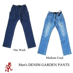 グラミチ ボトムス デニム ガーデンパンツ メンズ GRAMiCCi|kt-gigaweb