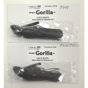 Dragon Gorilla Jig(ドラゴンゴリラジグ)1.5oz(42g) / LOCO BAITS/Dragon LURES