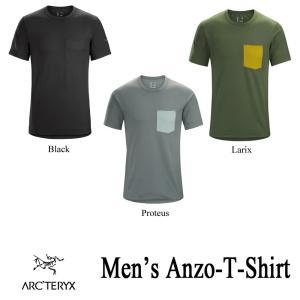 アークテリクス アンゾ Tシャツ メンズ ARC'TERYX|kt-gigaweb