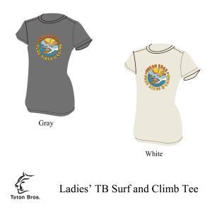 ティートンブロス レディースTシャツ サーフアンドクライムTシャツ レディース Teton Bros. kt-gigaweb