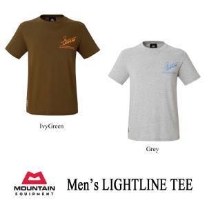 マウンテンイクイップメント Tシャツ ライトライン・ティー メンズ MOUNTAIN EQUIPMENT|kt-gigaweb