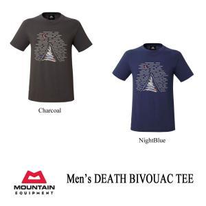 マウンテンイクイップメント Tシャツ デス・ビバーク・ティー メンズ MOUNTAIN EQUIPMENT|kt-gigaweb