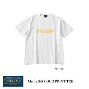 ペンドルトン メンズTシャツ ショートスリーブロゴプリントTシャツ メンズ PENDLETON kt-gigaweb
