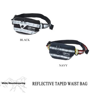 ホワイトマウンテニアリング REFLECTIVE TAPED WAIST BAG White Mountaineering|kt-gigaweb