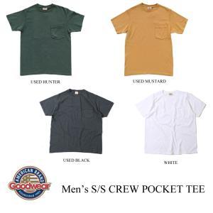グッドウェア メンズTシャツ ショートスリーブクルーネックポケットティー GOODWEAR kt-gigaweb