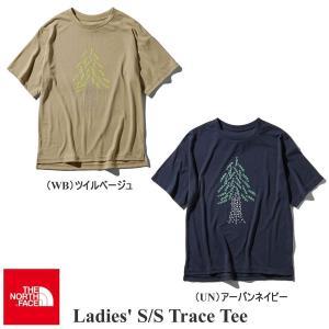 ザ・ノースフェイス S/S Tシャツ ショートスリーブトレースティー レディース THE NORTH FACE|kt-gigaweb