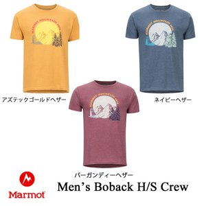 マーモット メンズTシャツ ボバックハーフスリーブクルー メンズ Marmot kt-gigaweb