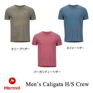 マーモット メンズTシャツ シラガハーフスリーブクルー メンズ Marmot kt-gigaweb