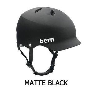 WATTS Matte Black (ブラック) / bern(バーン) ヘルメット