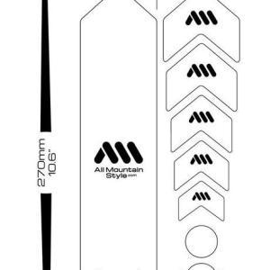オールマウンテンスタイル フレームガード ハニカム フレームガード  / ALL MOUNTAIN STYLE Honeycomb Frame Guard|kt-gigaweb