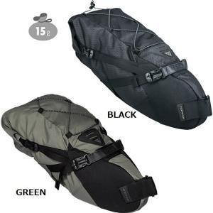 バックローダー 15リットル  トピーク バイクパッキング TOPEAK BAG36702|kt-gigaweb