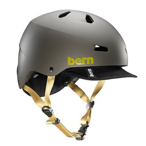 MACON VISOR Matte Charcoal(チャコール) / bern(バーン) ヘルメット|kt-gigaweb