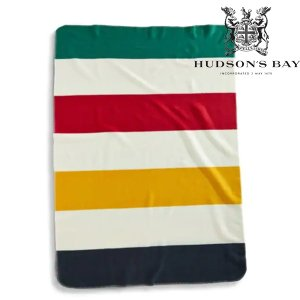 Hudson's Bay Company ハドソンズベイカンパニー フリースブランケット POLAR FLEECE THROW|kt-gigaweb