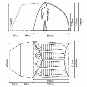 ワイルドカントリー テント エテシアン4 WILD COUNTRY|kt-gigaweb|02
