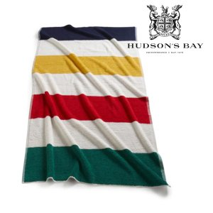 Hudson's Bay Company ハドソンズベイカンパニー ビーチタオル 太ボーダー|kt-gigaweb