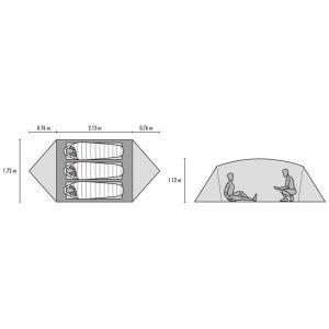 Muthe Hubba NX (マザハバNX) / MSR(エムエスアール)by CASCADE DESIGNS|kt-gigaweb|03