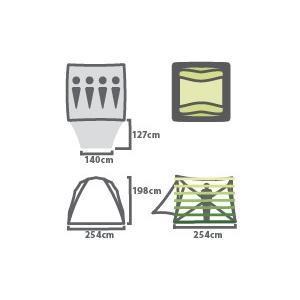 ワゴントップ 4P グリーン / NEMO (ニーモ)|kt-gigaweb|02
