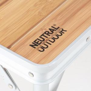 バンブーテーブル L  /  NEUTRAL OURDOOR(ニュートラルアウトドア)|kt-gigaweb|03