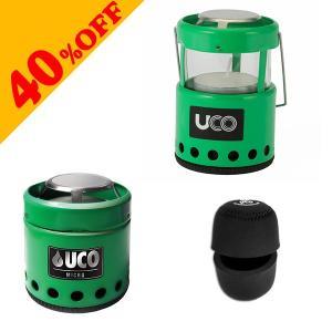 UCO MAICRO CANDLE LANTERN GREEN ケースセット ユーコ マイクロキャンドルランタン|kt-gigaweb