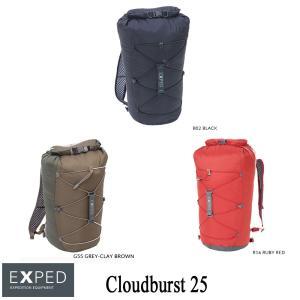 【完全防水バックパック】エクスペド デイパック クラウドバースト25 EXPED kt-gigaweb