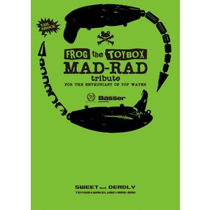 【在庫処分】FROG the TOYBOX MAD-RAD tribute TOY COLOR  / つり人社|kt-gigaweb