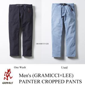 Men's<GRAMICCI×LEE >PAINTER CROPPED PANTS (ペインタークロップドパンツ) / GRAMiCCi (グラミチ)|kt-gigaweb