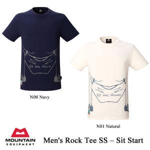 Men's Rock Tee SS - Sit Start (ロック・ティー・SS - シットスタート) / ME (マウンテンイクイップメント)|kt-gigaweb