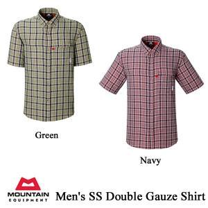 Men's SS Double Gauze Shirt(メンズ SS・ダブルガーゼ・シャツ) / ME(マウンテンイクイップメント)|kt-gigaweb