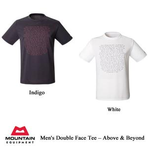 Men's Double Face Tee - Above & Beyond(メンズ ダブルフェイス・ティー・アバーブ&ビヨンド) / ME(マウンテンイクイップメント)|kt-gigaweb