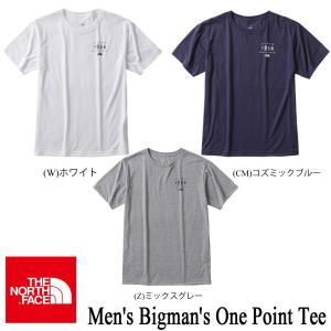 Men's Bigman's One Point Tee(メンズビッグマンズワンポイントティー) / THE NORTH FACE(ザ・ノースフェイス)|kt-gigaweb