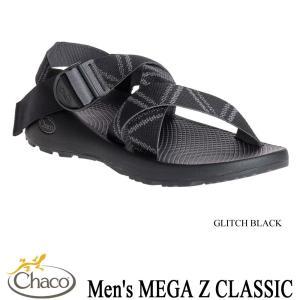 Men's MEGA Z CLASSIC (メンズ メガZクラシック) GLITCH BLACK / Chaco(チャコ)|kt-gigaweb
