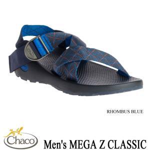 Men's MEGA Z CLASSIC (メンズ メガZクラシック) RHOMBUS BLUE / Chaco(チャコ)|kt-gigaweb