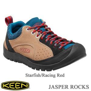 Ladies' JASPER ROCKS (レディース ジャスパー ロックス) -  Starfish/Racing Red - 【1014132】 /  KEEN(キーン)|kt-gigaweb