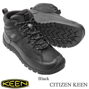 Men's CITIZEN KEEN LIMITED WP (メンズ シティズン キーン リミテッド WP) - Black - 【1015140】/  KEEN(キーン)|kt-gigaweb