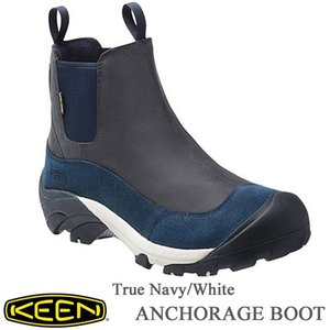 Men's ANCHORAGE BOOT II(アンカレッジ ブーツ ツー) -  True Navy/White - 【1015670】 /  KEEN(キーン)|kt-gigaweb