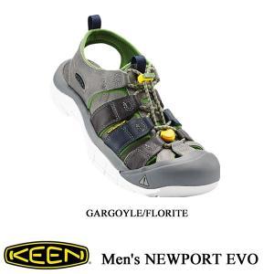 Men's NEWPORT EVO (ニューポート EVO)  GARGOYLE/FLORITE / KEEN (キーン) kt-gigaweb