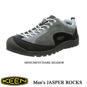 Men's JASPER ROCKS(メンズ ジャスパーロックス) - MONUMENT/DARK SHADOW - 【1017182】/  KEEN(キーン)|kt-gigaweb