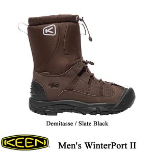 Men's WinterPort II  (メンズ ウィンターポート ツー) Demitasse / Slate Black【1017506】 / KEEN (キーン) kt-gigaweb